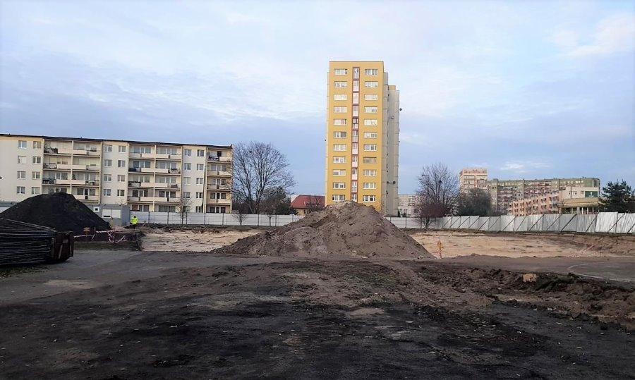 Świnoujście. Budowa kompleksu przy CEZiT. Wykonawca wszedł już w ziemię