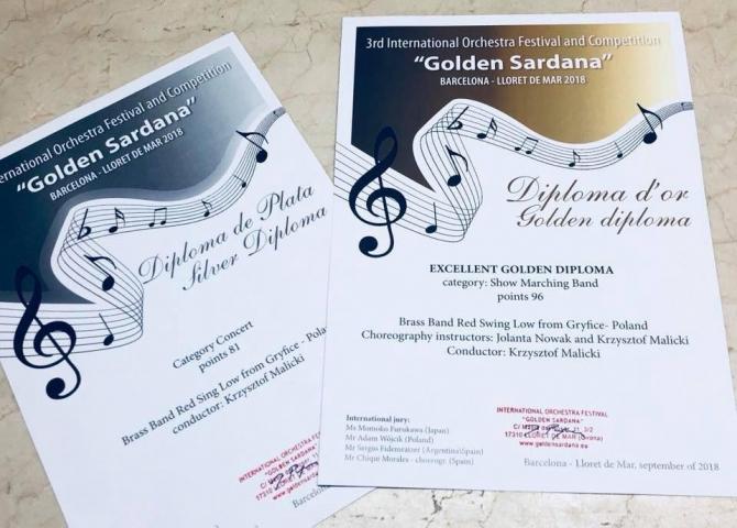 Wielki sukces Red Swing Low podczas Festiwal Golden Sardana!