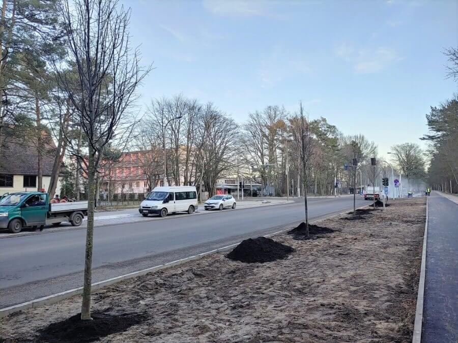Świnoujście. Działają na ulicy Wojska Polskiego.
