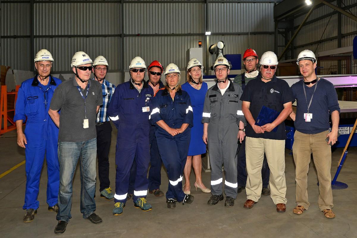 Stocznia Remontowa Shipbuilding rozpoczęła budowę trzeciego niszczyciela min typu Kormoran II