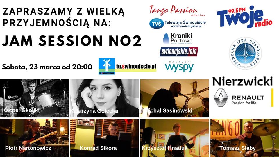 Świnoujście. JAM SESSION NO2 – Jazz, Blues, Fusion w TANGO PASSION