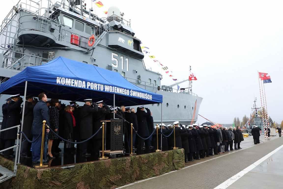 Świnoujście. Komandor Piotr Nieć dowódcą 8. Flotylli Obrony Wybrzeża