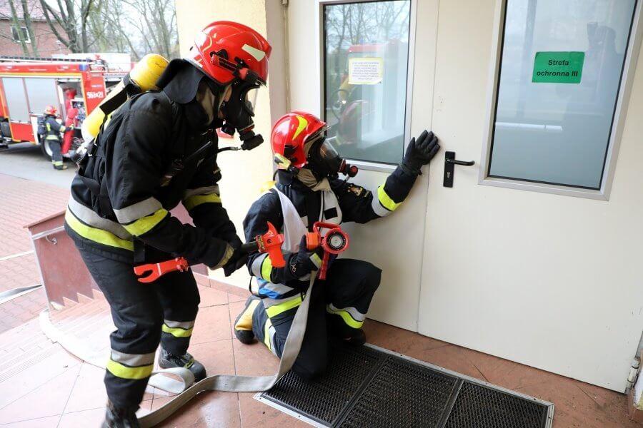 Ćwiczebny alarm pożarowy w 8.FOW