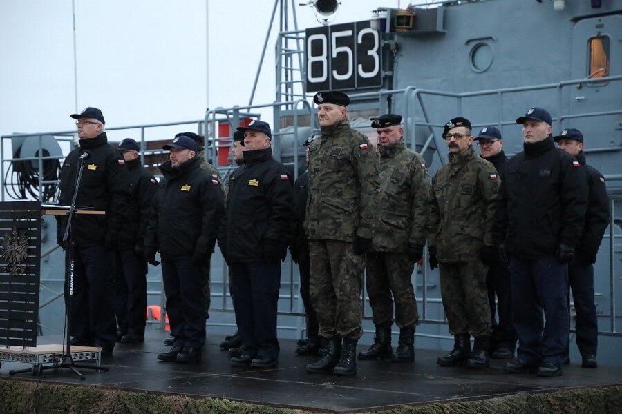 Świnoujście. Inauguracja Roku w 8. Flotylli Obrony Wybrzeża (fotogaleria)