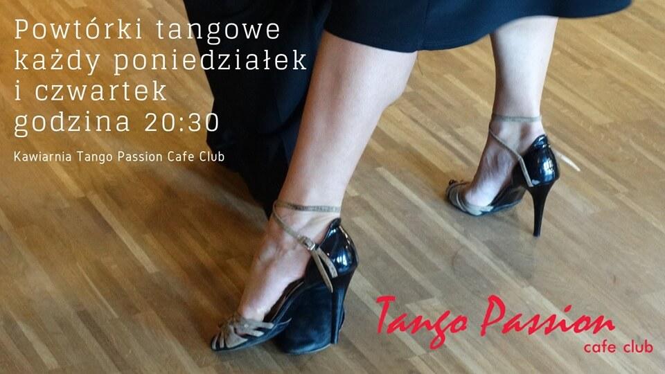 Świnoujście. Warsztaty tangowe - powtórki - Tango Argentino w Kawiarni Tango Passion Cafe Club.