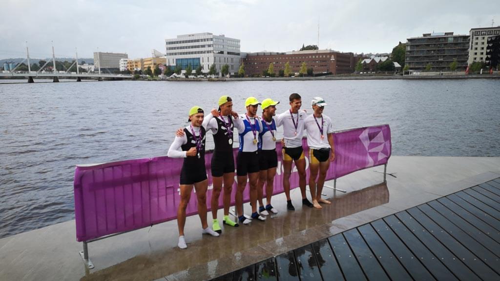 Srebrny medal Mistrzostw Europy dla Akademii Morskiej w Szczecinie.