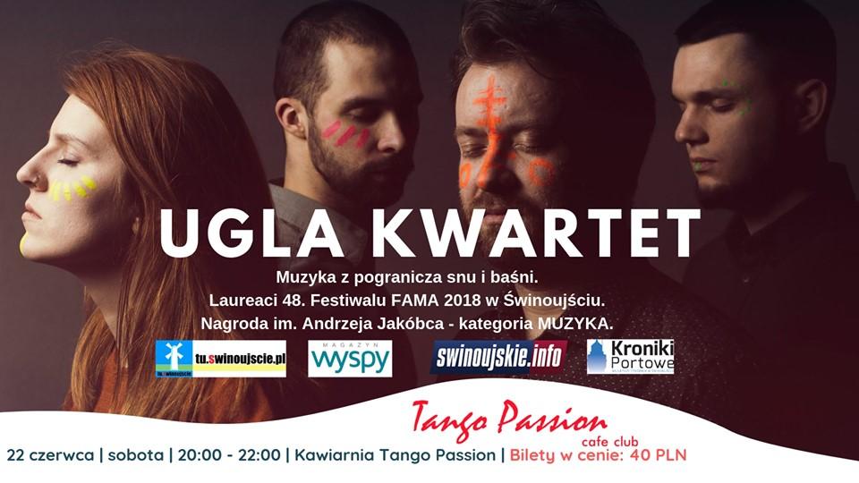 Świnoujście. UGLA Kwartet – koncert baśniowy w Kawiarni Tango Passion Cafe Club