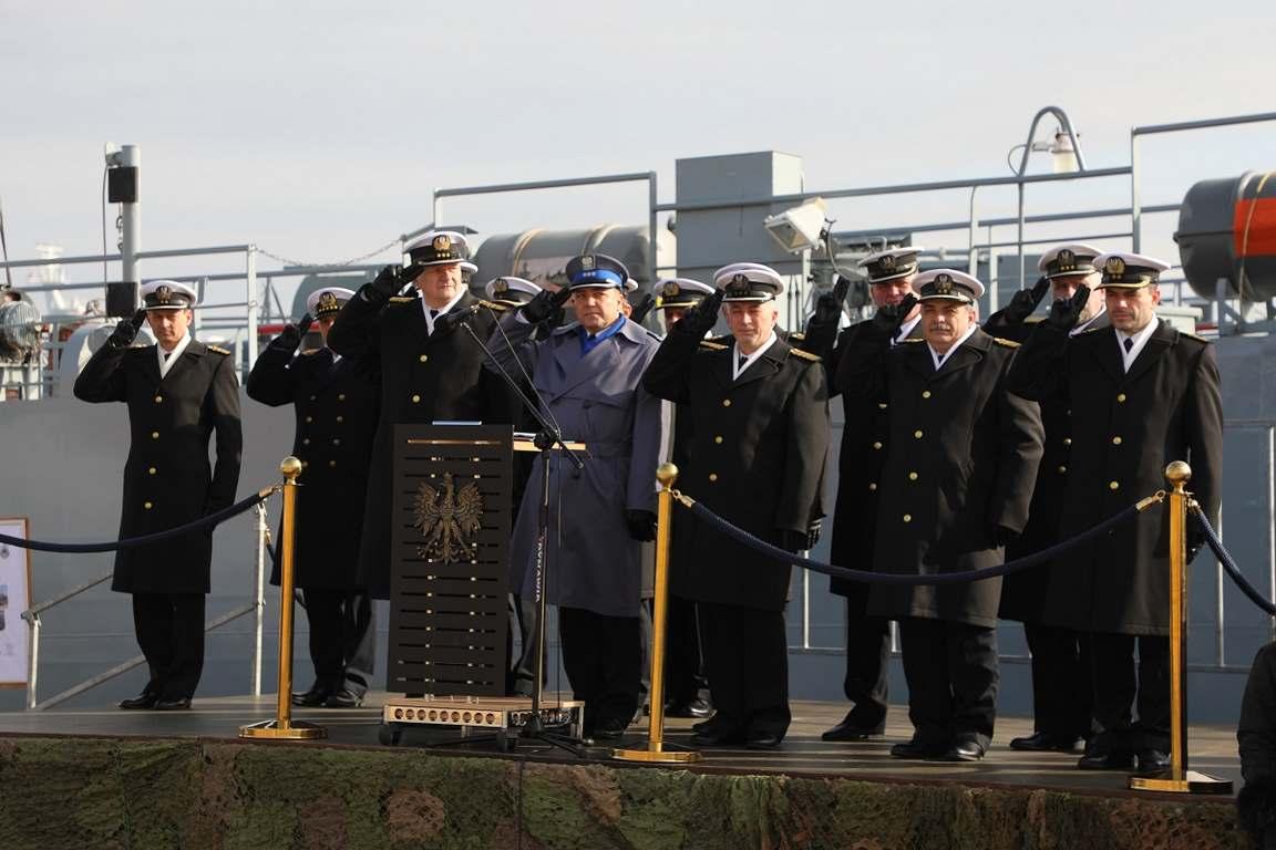 Świnoujście. Przysięga wojskowa w 8. Flotylli Obrony Wybrzeża