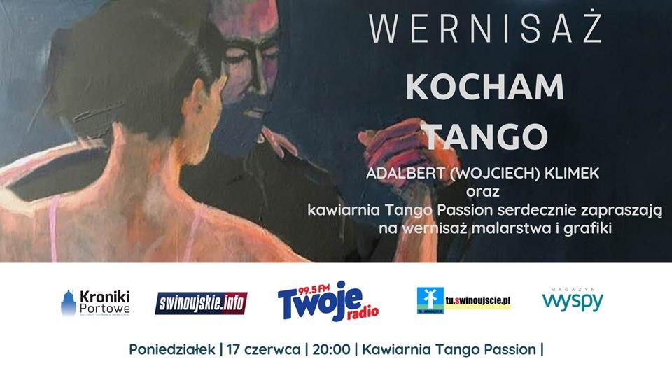 Świnoujście. Kocham Tango – wernisaż Adalbert (Wojciech) Klimek