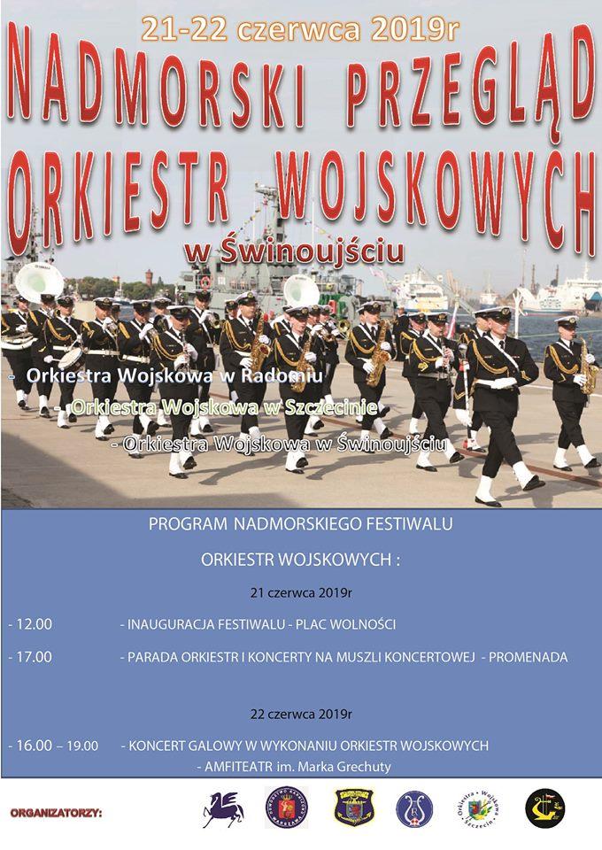 Nadmorski Przegląd Orkiestr Wojskowych w Świnoujściu.