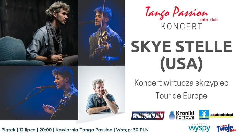 Świnoujście. Koncert wirtuoza skrzypiec – Skye Stelle – Tour de Europe