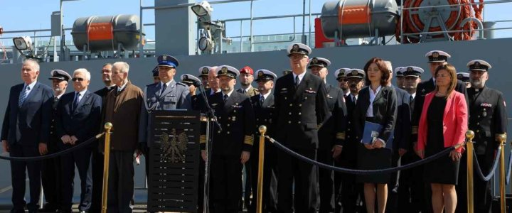 Świnoujście. 54 lata 8. Flotylli Obrony Wybrzeża.