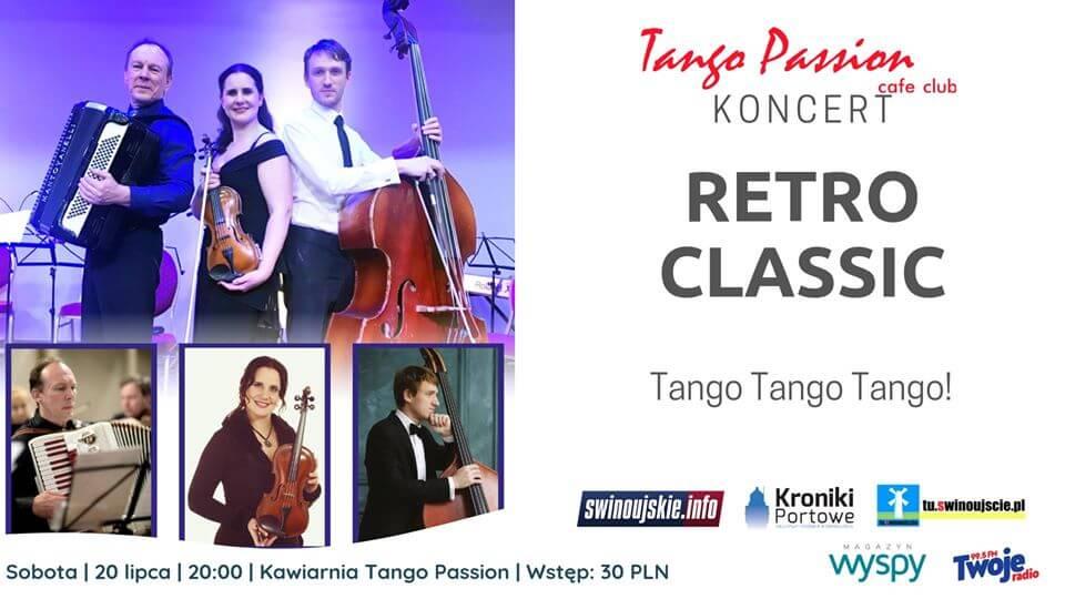 Świnoujście. Koncert Retro Classic – Tango na żywo w Kawiarni Tango Passion Cafe Club