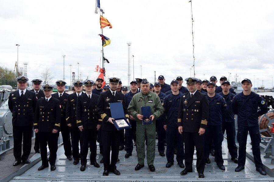 Świnoujście 8.FOW. ORP Gniezno w Tallinie