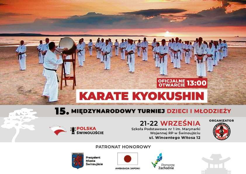 Świnoujście. Zapraszamy na zajęcia do Świnoujskiej Akademii Karate Kyokushin