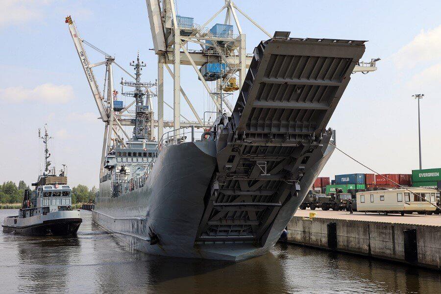 Transport techniki wojskowej na ćwiczenie Capable Logistician 2019 (fotogaleria)