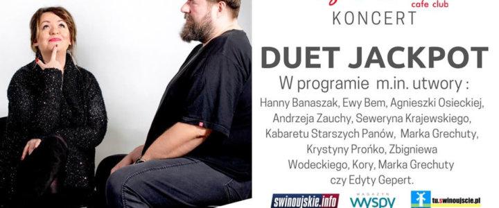 Świnoujście. Duet Jackpot - koncert niecodzienny w Kawiarni Tango Passion Cafe Club.
