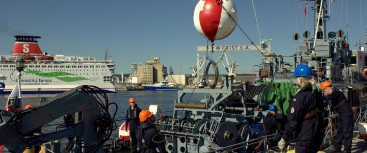 8. Flotylla Obrony Wybrzeża w ćwiczeniu DRAGON-19.