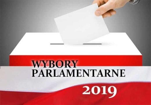 Świnoujście. Wybory Parlamentarne 2019.