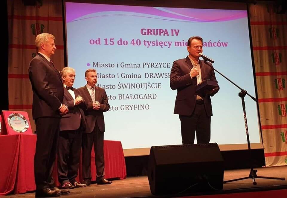 Świnoujście. Województwo zachodniopomorskie pierwsze miejsce w Polsce -XI Europejski Tydzień Sportu dla Wszystkich.