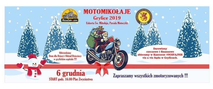 MotoMikołaje Gryfice 2019 zapraszają.