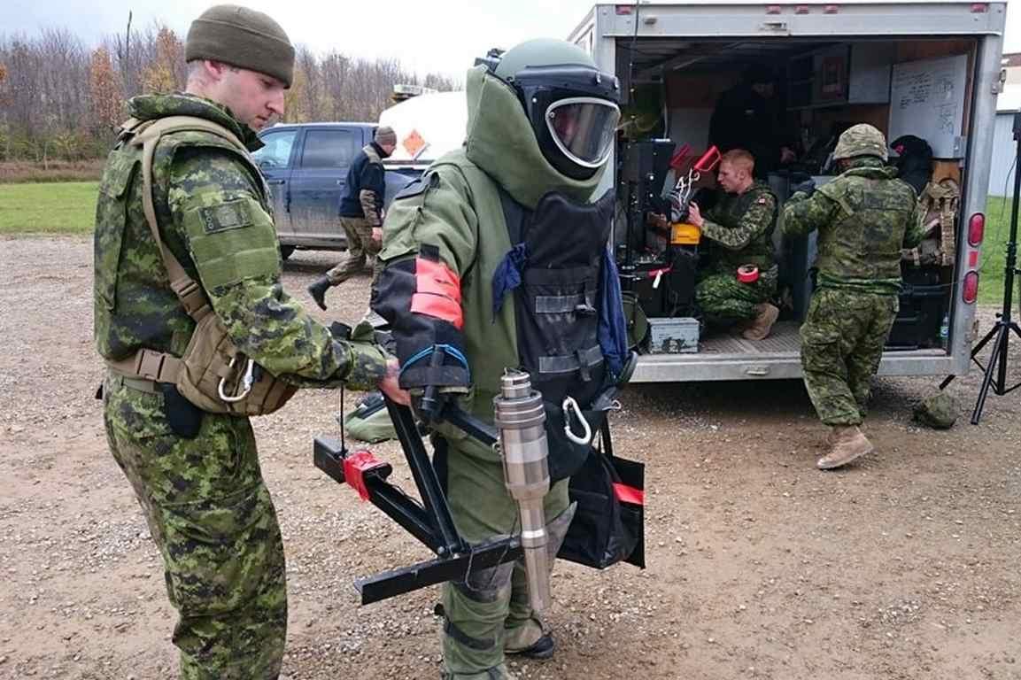 """Ćwiczenia """"Ardent Defender"""" w Kanadzie."""