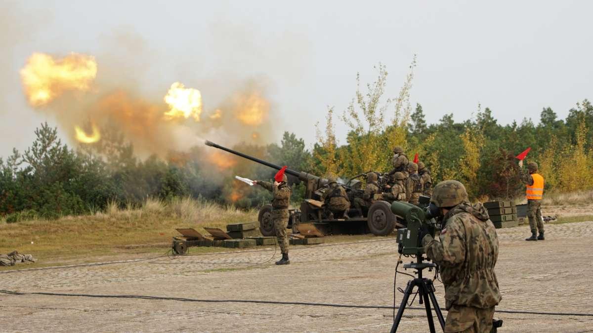 Zakończenie szkolenia poligonowego przeciwlotników MW