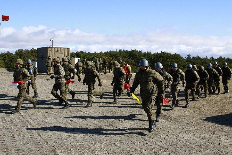 Zgrupowanie poligonowe przeciwlotników z 8.FOW