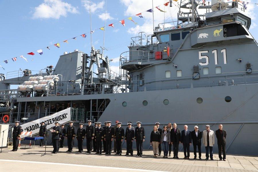 Świnoujście. Nowy Dowódca 2. Dywizjonu Okrętów Transportowo – Minowych