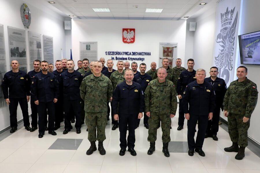 Szkolenie dowództw jednostek 8.Flotylli Obrony Wybrzeża.