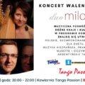 Świnoujście. Koncert Walentynkowy - Duo Milonga - Harfa, Akordeon w Kawiarni Tango Passion Cafe Club.