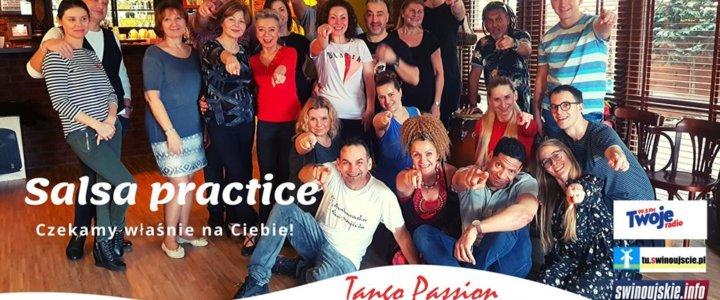 Świnoujście. Salsa Practice w Kawiarni Tango Passion Cafe Club - wstęp wolny.