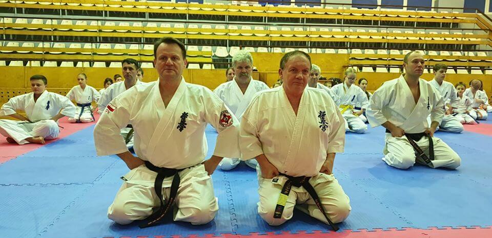 Świnoujską Akademię Karate Kyokushin odwiedził Shihan Andrzej Drewniak 9 Dan.