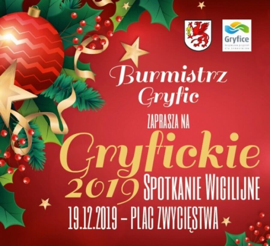 """""""GRYFICKIE SPOTKANIE WIGILIJNE 2019""""."""
