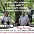 Świnoujście. Koncert charytatywny Jackpot & Krzysztof Baranowski w Kawiarni Tango Passion Cafe Club.