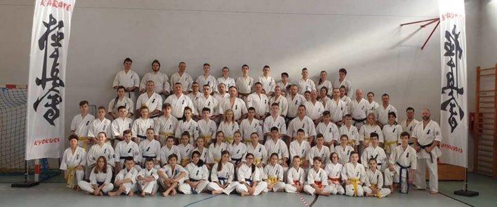 Świnoujście. Zgrupowanie zawodników województwa zachodniopomorskiego w Karate Kyokushin.