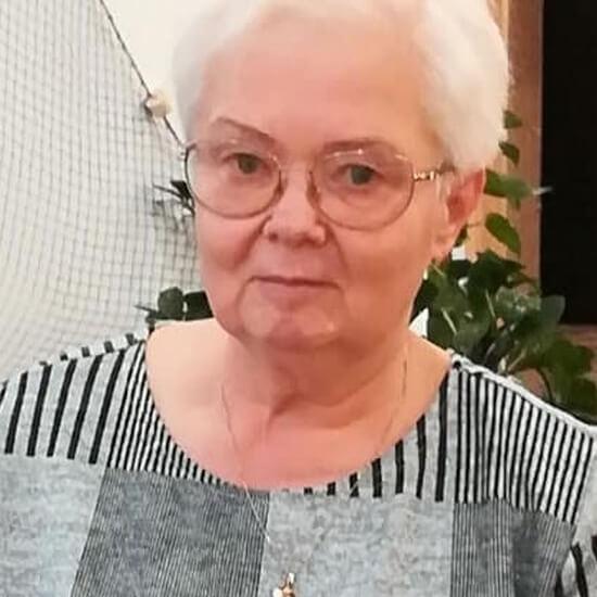 Janina Miecznik - świnoujska poetka.