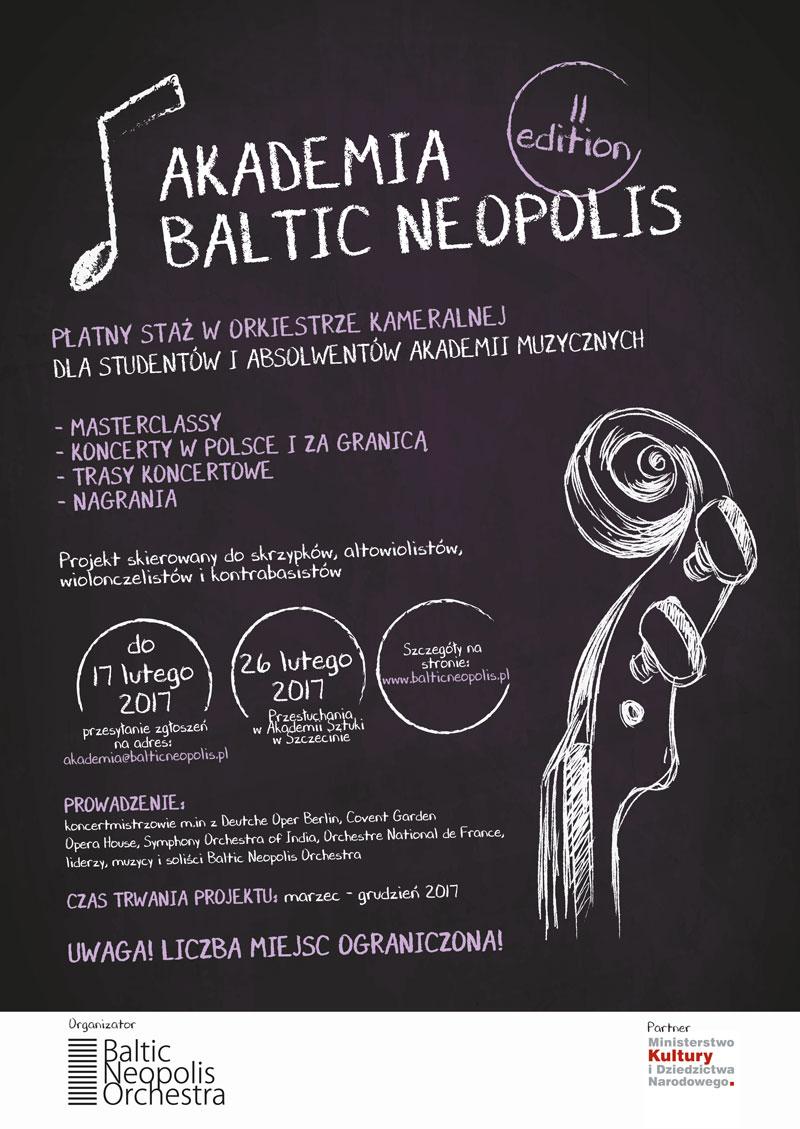 Rusza druga edycja płatnych staży w Akademii Baltic Neopolis