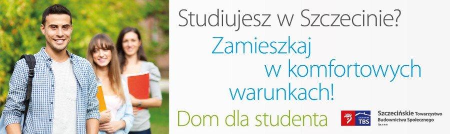 """Program """"Dom dla studenta"""" w Szczecinie"""
