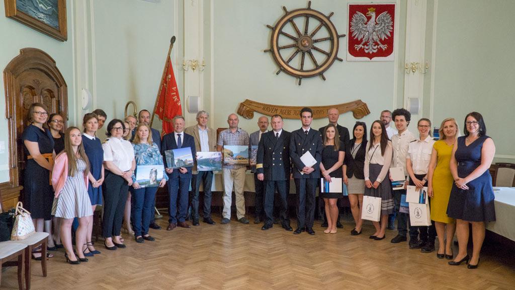 Nagrody w Konkursie Fotograficznym Biura Karier Akademii Morskiej rozdane