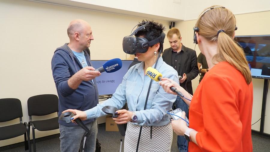 Wirtualna rzeczywistość w Akademii Morskiej w Szczecinie