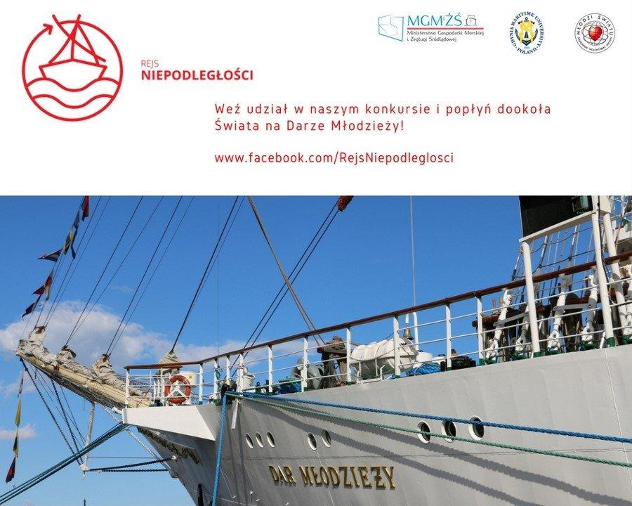 Rejs Niepodległości – weź udział w konkursie