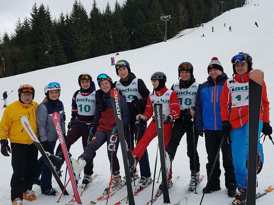 Reprezentacja AZS Akademia Morska w Szczecinie- sukces naszych narciarzy