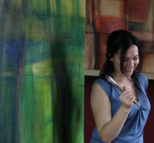 Świnoujście. Otwarcie wystawy malarstwa Pani Anny Nesteruk