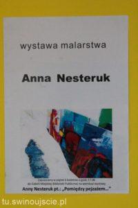Wernisaż Anny Nesteruk