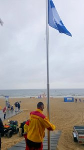 Błękitna Flaga. Świnoujska plaża najdłużej w Polsce.