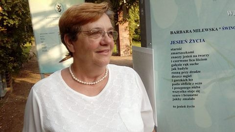 Wystawa Barbary Milewskiej w Świnoujściu połączy poezję z plastyką