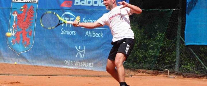 Ponad 220 zawodników wzięło udział w turnieju Babolat ITF Seniors Świnoujście Ahlbeck.
