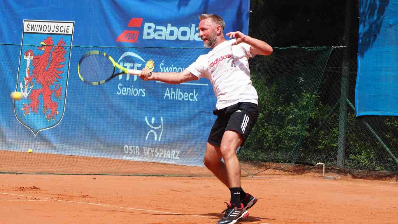 Ponad 220 zawodników wzięło udział w turnieju Babolat ITF Seniors Świnoujście Ahlbeck