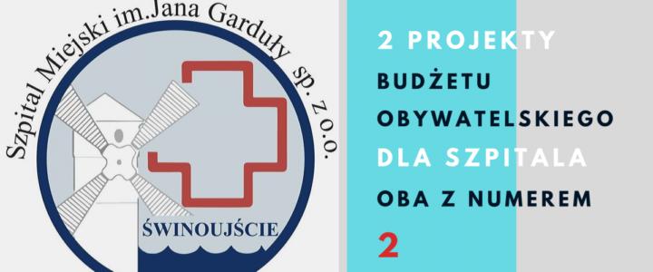 Świnoujście. Głosujemy na projekty szpitala! Budżet Obywatelski 2019.